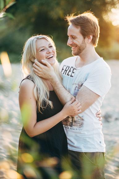 Linda und David